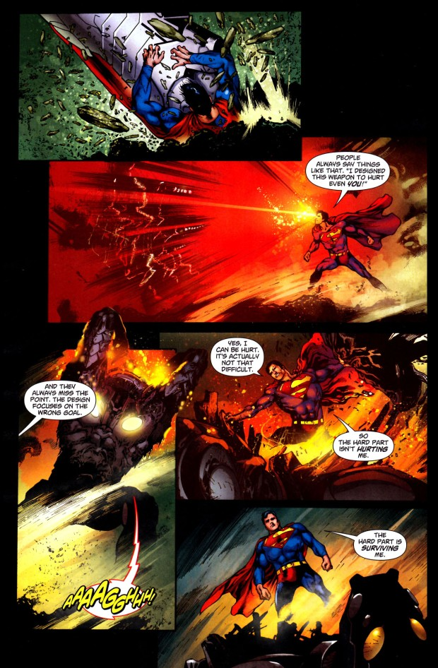 common mistake when fighting superman 3