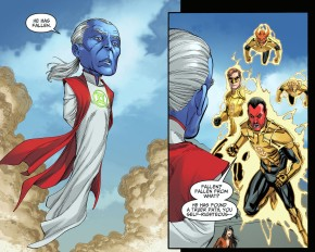 ganthet vs sinestro 1