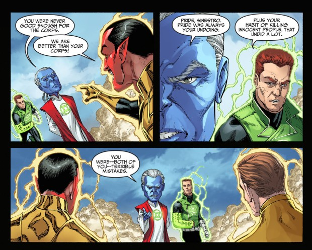 ganthet vs sinestro 2