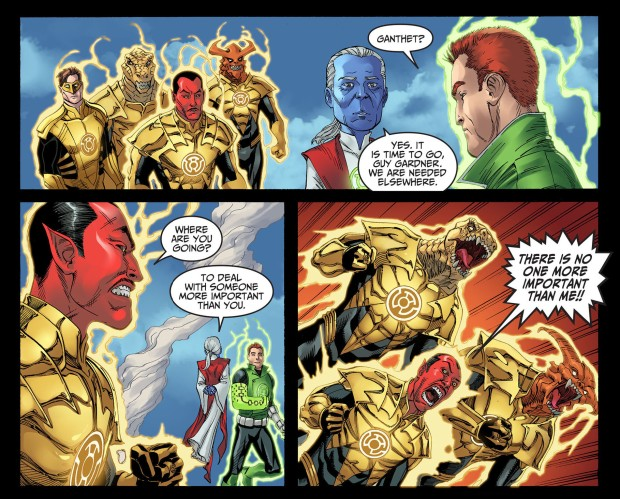 ganthet vs sinestro 3