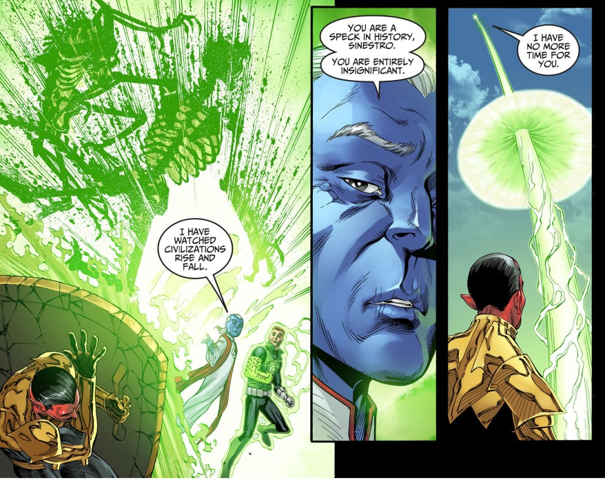 ganthet vs sinestro 4
