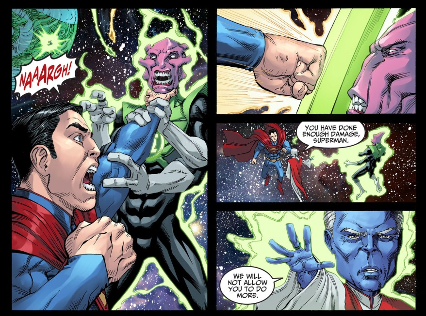 ganthet vs superman 1