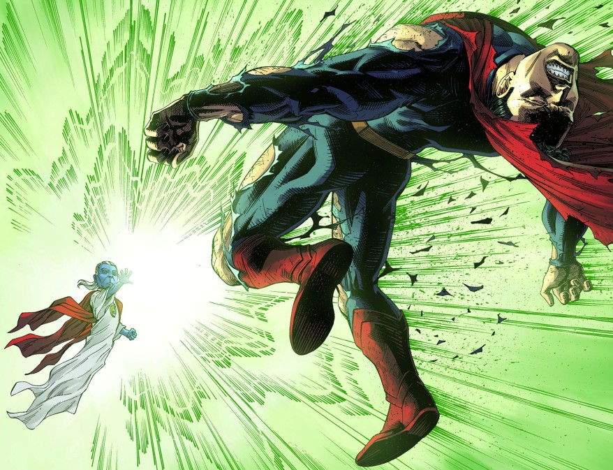 ganthet vs superman 2
