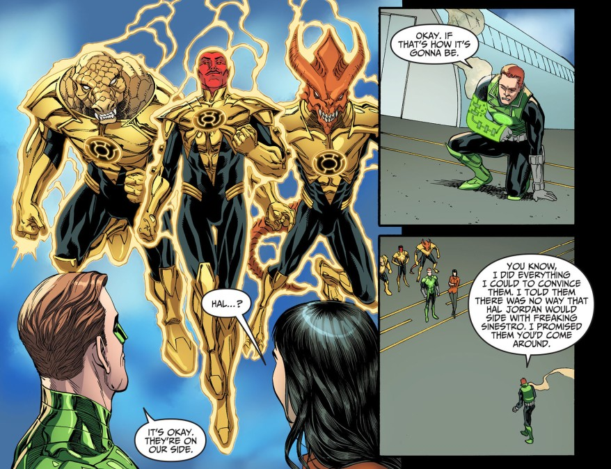 guy gardner believes in hal jordan 1