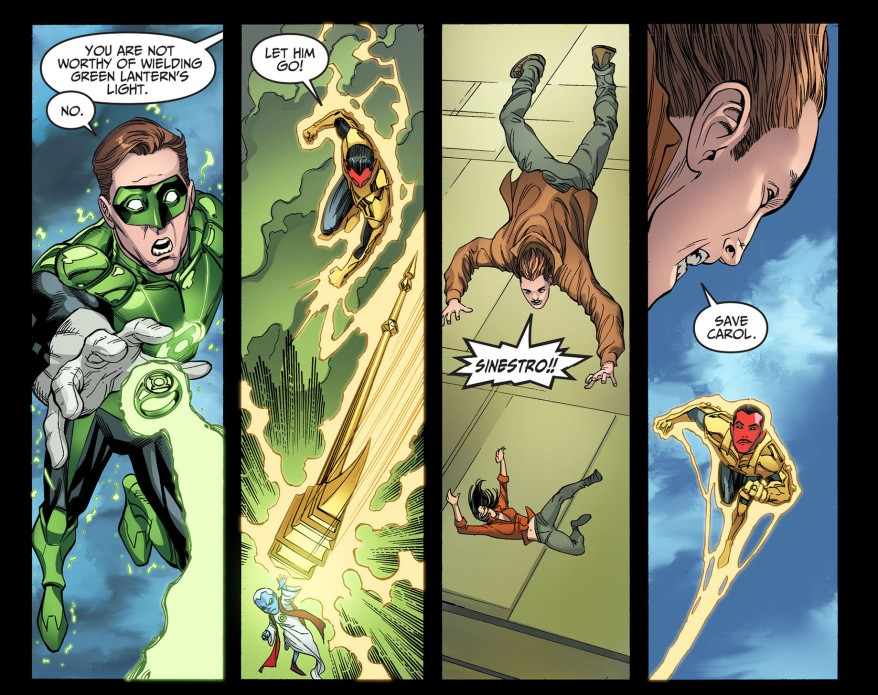 hal jordan joins the sinestro corps 2
