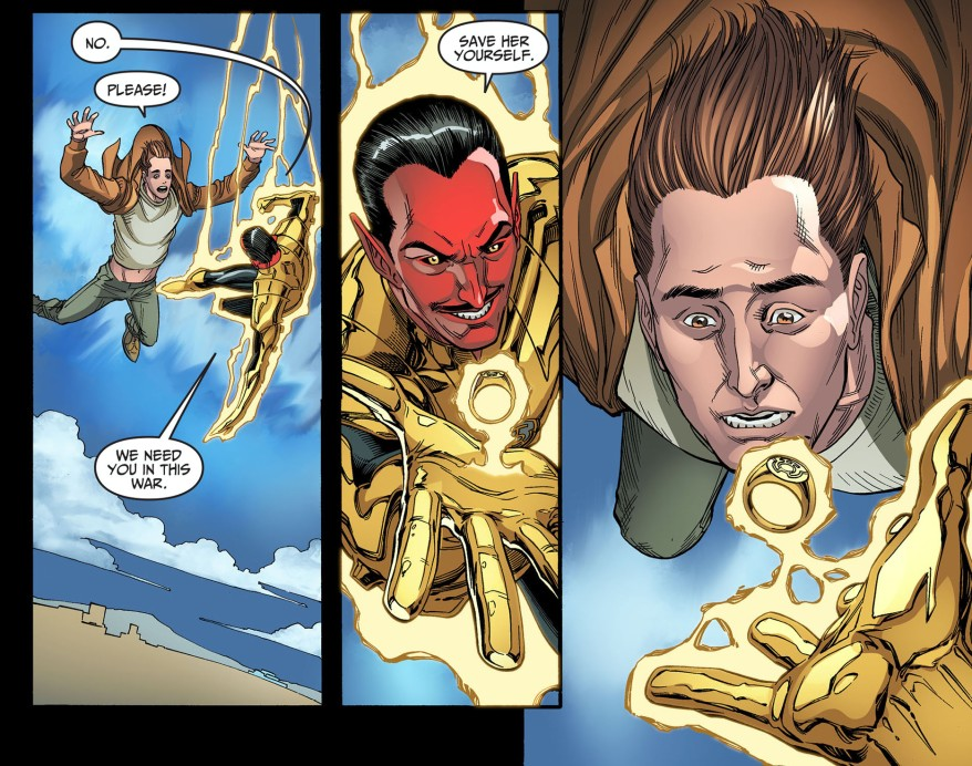 hal jordan joins the sinestro corps 3