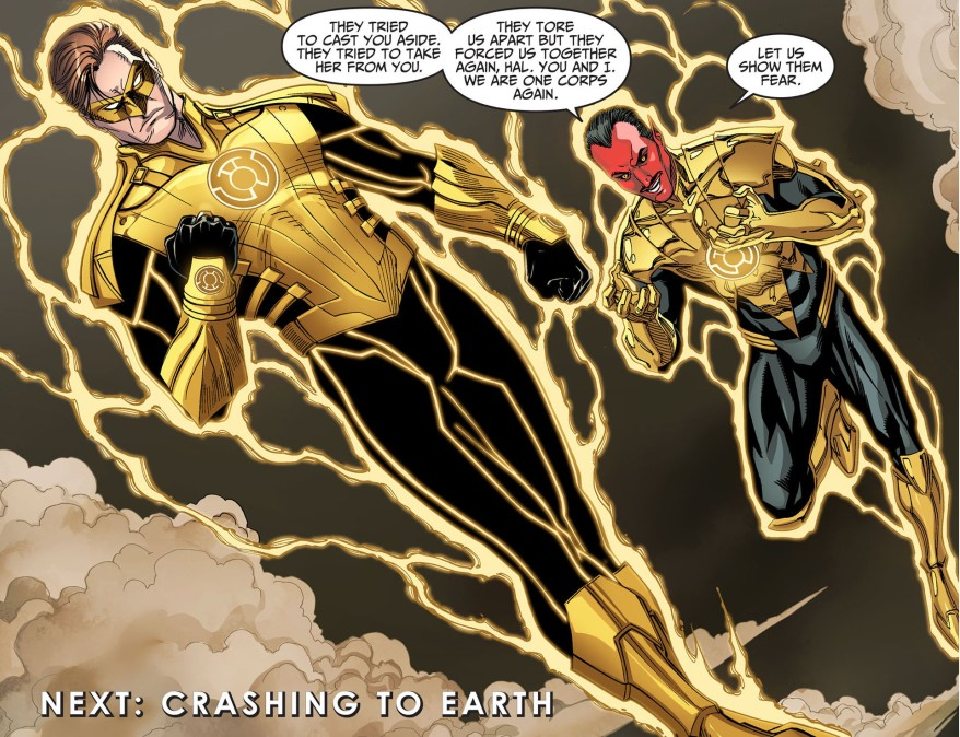 hal jordan joins the sinestro corps 5