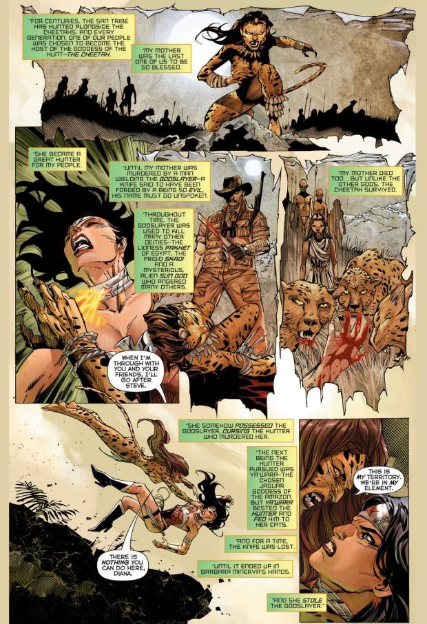 origin story of the cheetah (new 52)