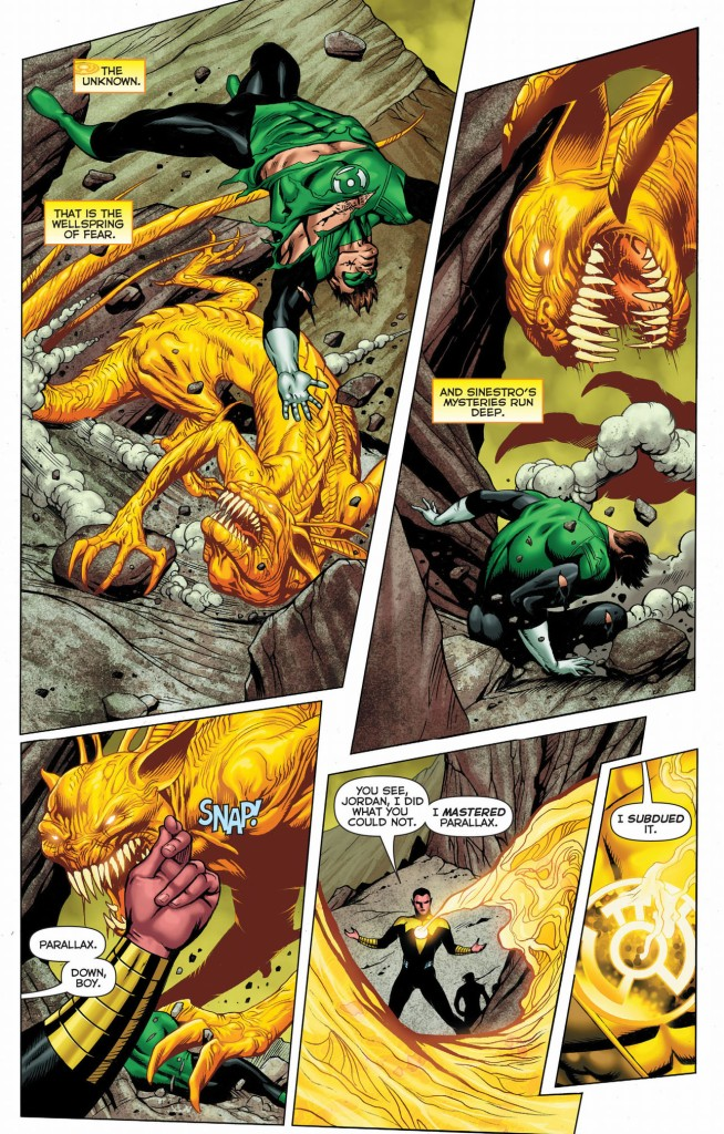sinestro's complete mastery of parallax 2