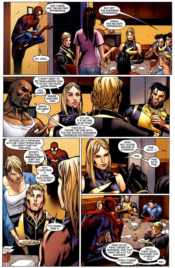 Spider-Man Takes Off His Mask For The New Avengers   Comicnewbies