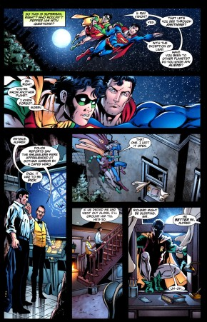 superman did robin's homework 1