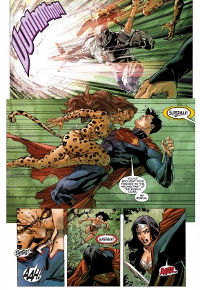 the cheetah infects superman 2