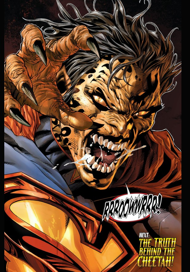 the cheetah infects superman 3