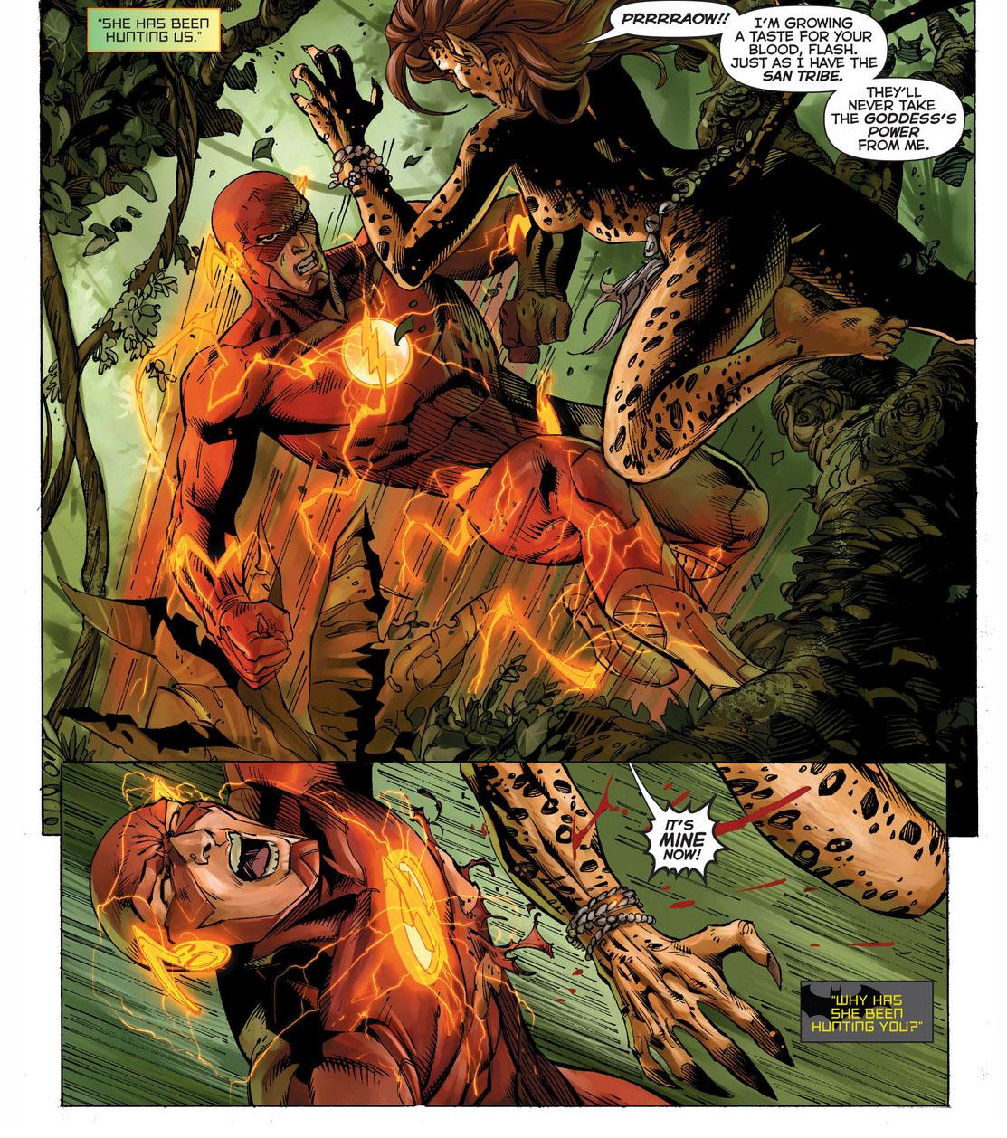 The flash wonder woman and aquaman vs the cheetah comicnewbies