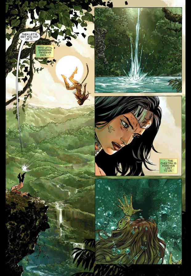 the flash, wonder woman and aquaman vs the cheetah 3