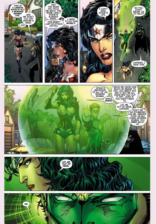 wonder woman vs green lantern 1