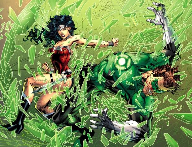 wonder woman vs green lantern 2