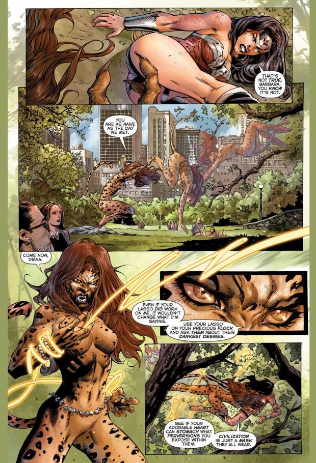 Wonder Woman VS The Cheetah (New 52) | Comicnewbies