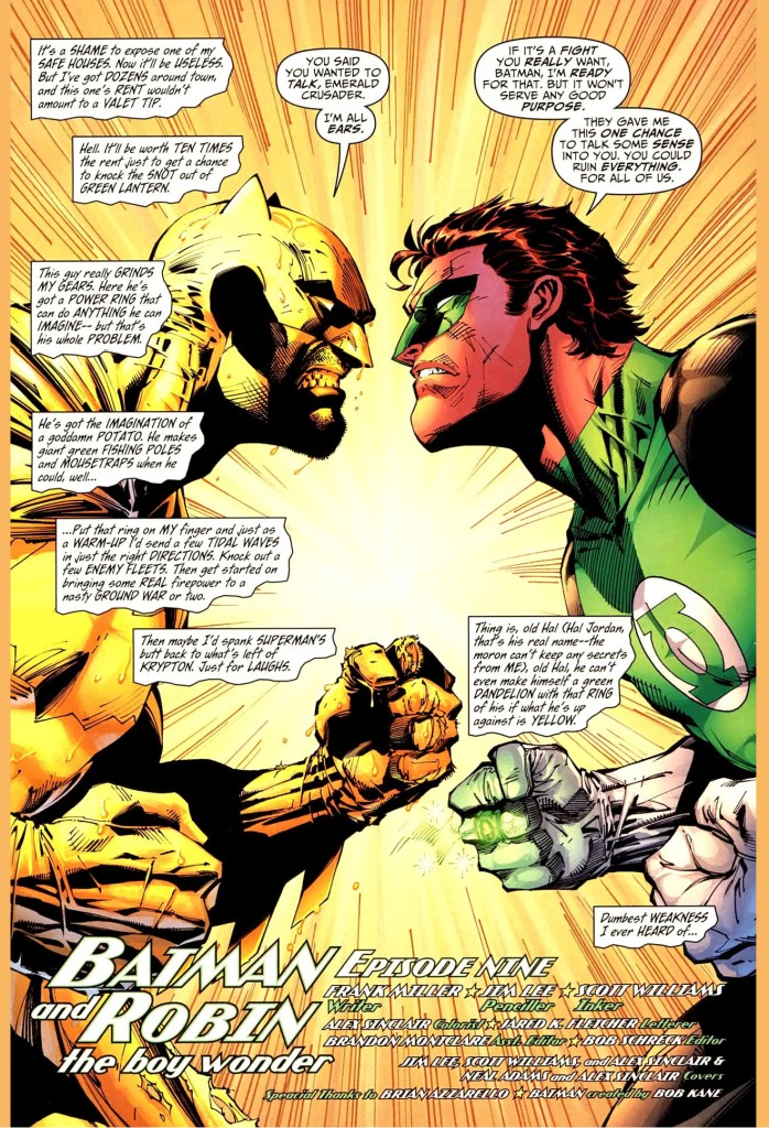 batman paints a room yellow for green lantern 1