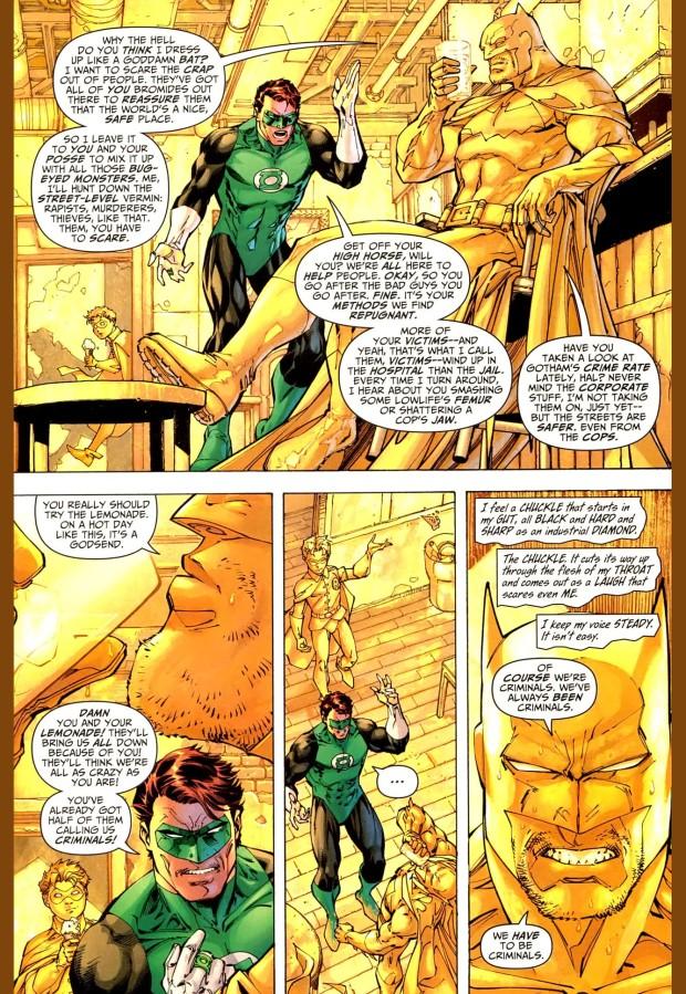 batman paints a room yellow for green lantern 3