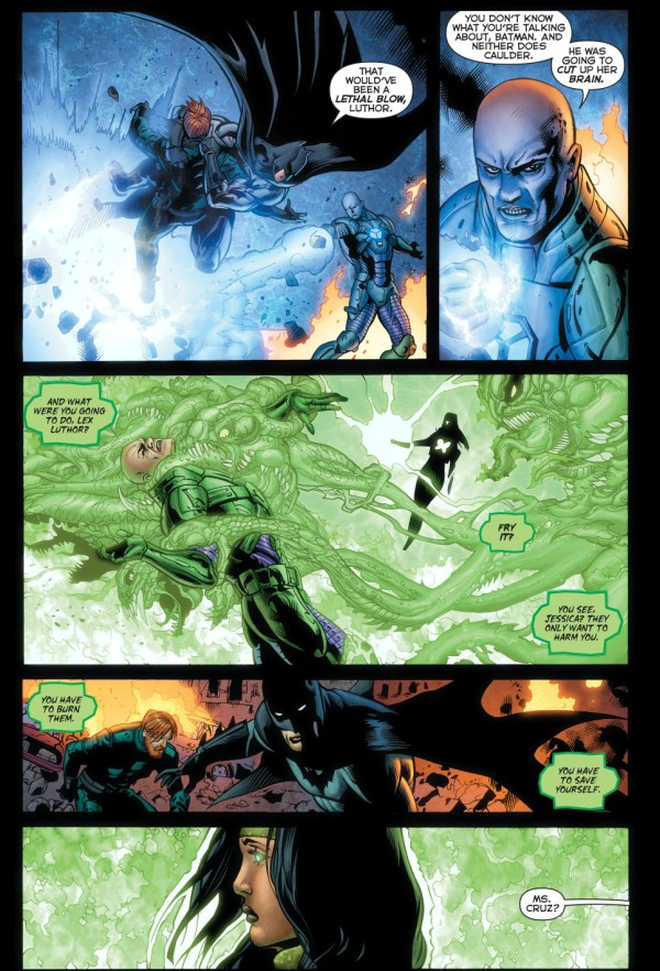 Batman Shuts Down Power Ring