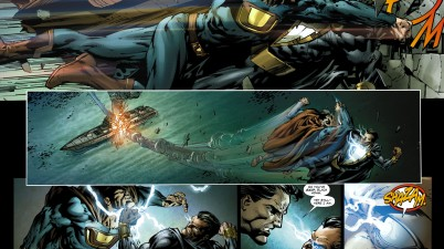black adam vs ultraman 1