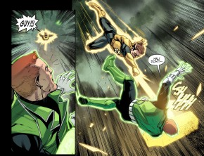 hal jordan kills guy gardner 1