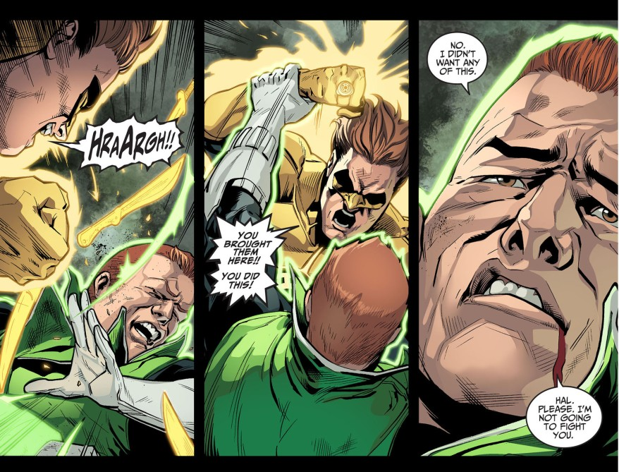 hal jordan kills guy gardner 2