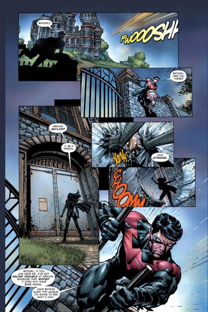 nightwing vs owlman and super woman 1
