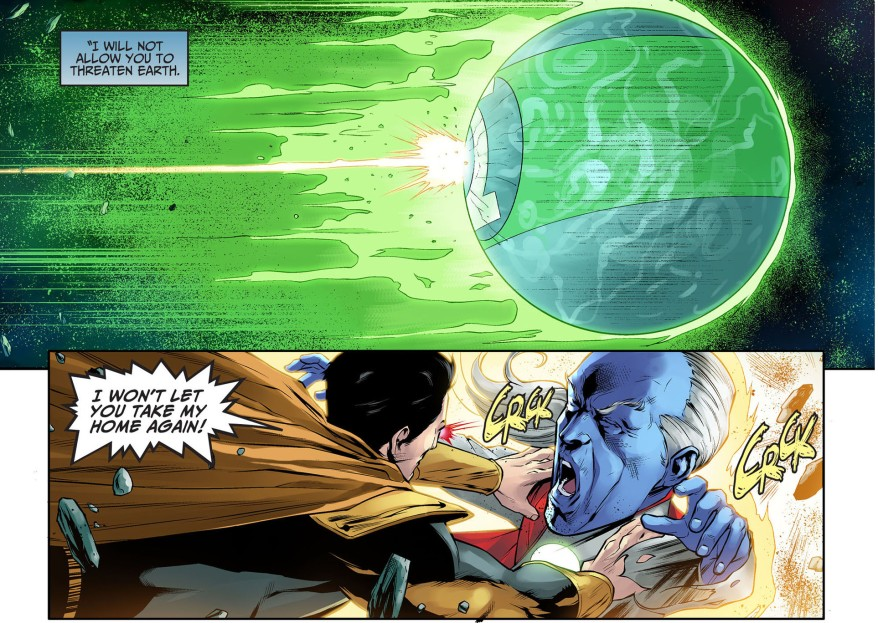 superman kills mogo and ganthet 2