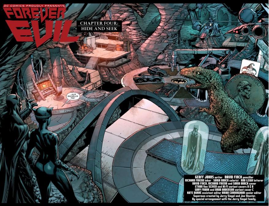 batman brings catwoman to the batcave 2