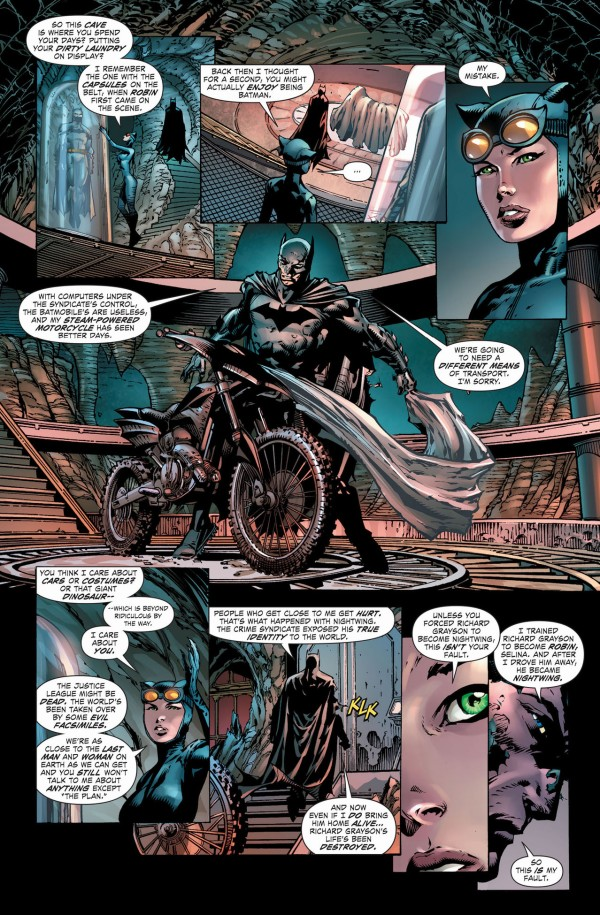 Batman Brings Catwoman To The Batcave Comicnewbies