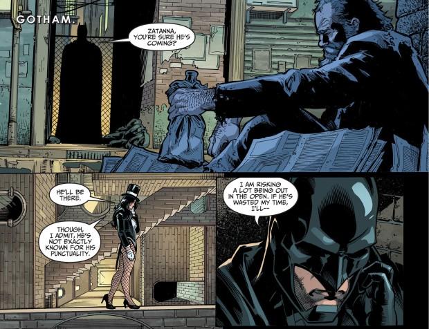 batman meets john constantine 1