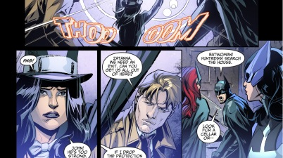 batman takes out constantine with one punch 1