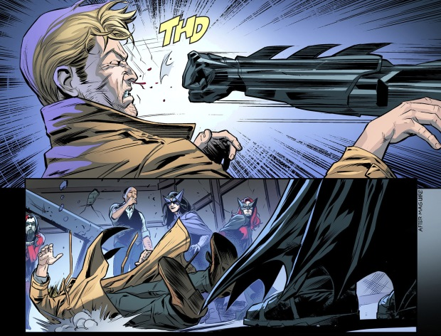 batman takes out constantine with one punch 4