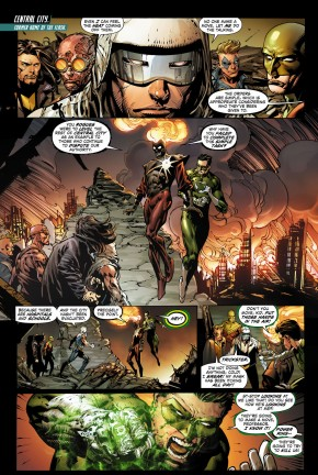 deathstorm and power ring vs the rogues 1
