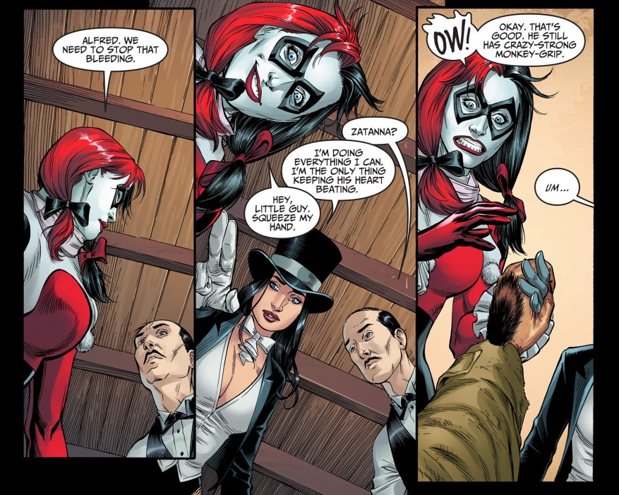 harley quinn scolds doctor fate