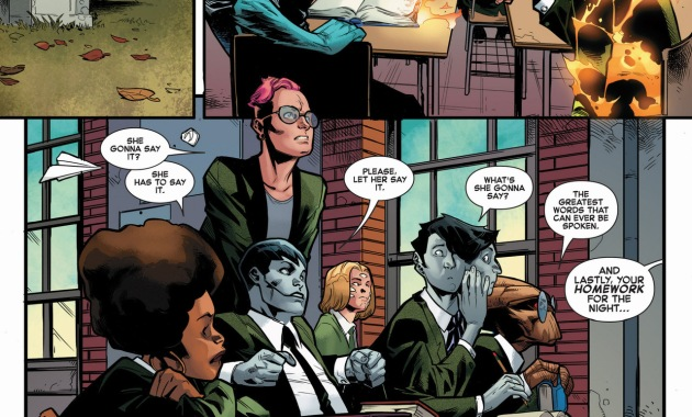 homework at the jean grey learning school 1