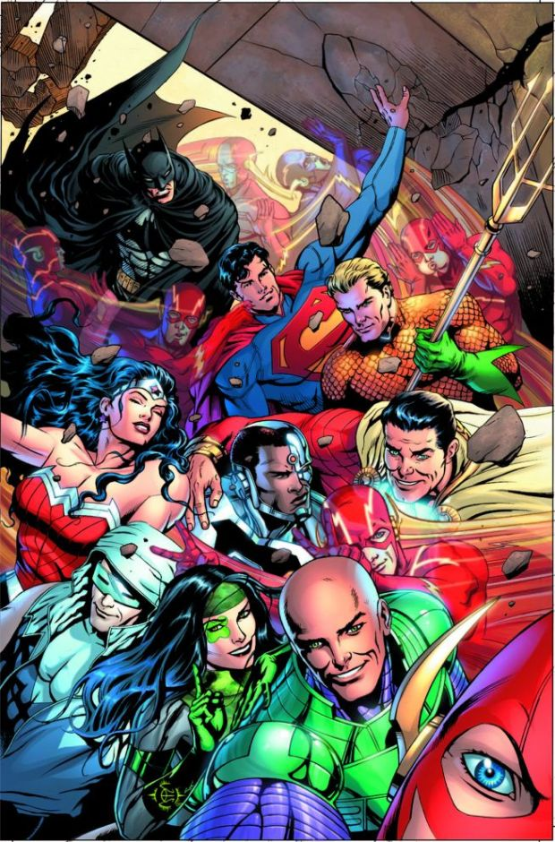 justice league selfie variant