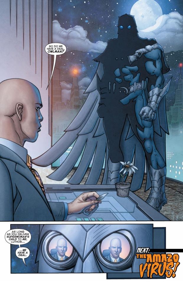 lex luthor's allies with owlman