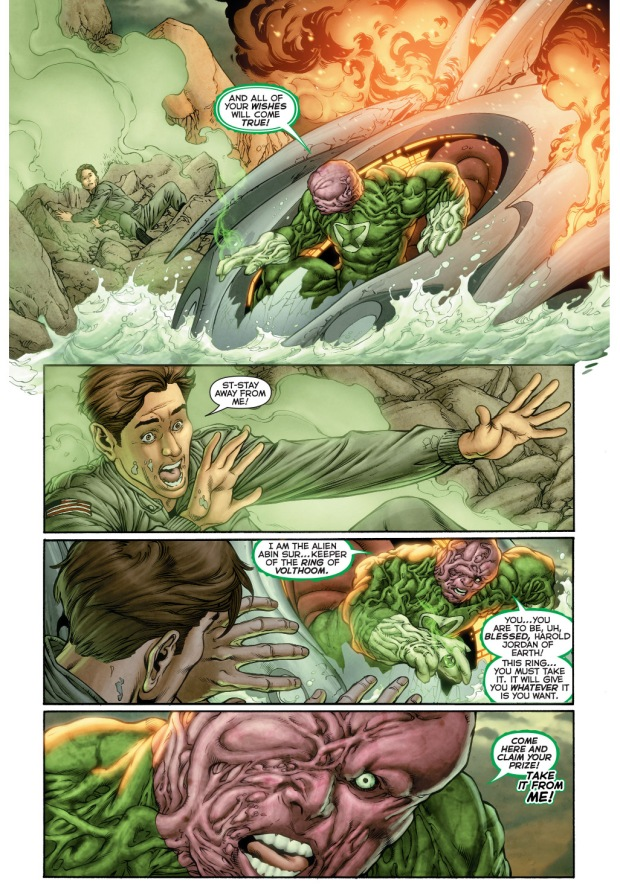 power ring's origin story (new 52)