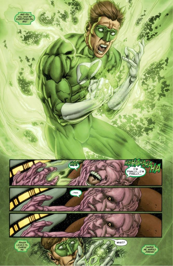 power ring's origin story (new 52)