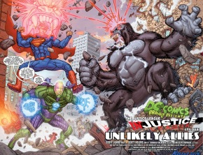 superman and lex luthor vs gorilla grodd