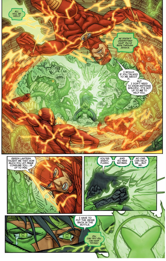 the flash helps power ring control her power