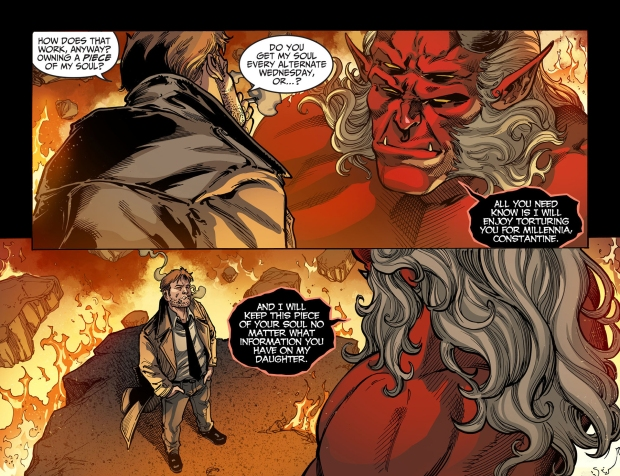 trigon owns a piece of constantine's soul