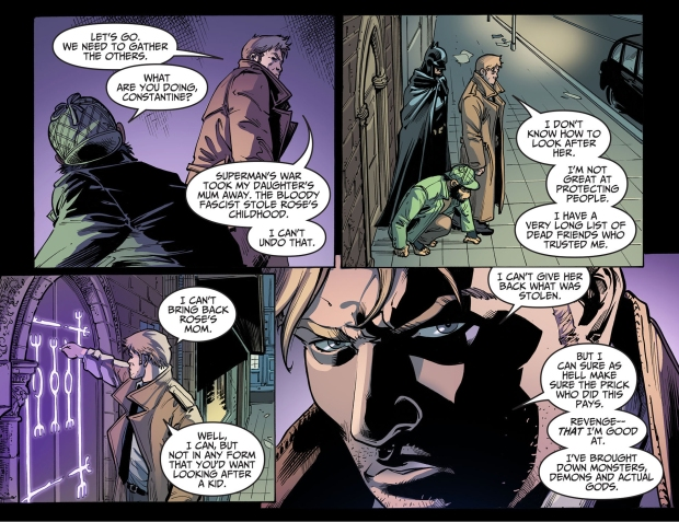 why constantine is against superman 1