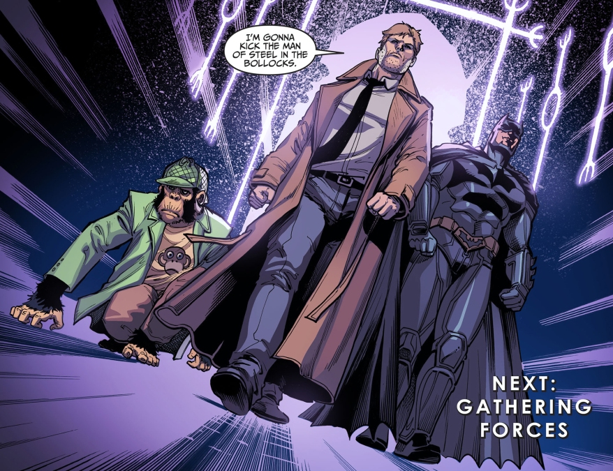 why constantine is against superman 2