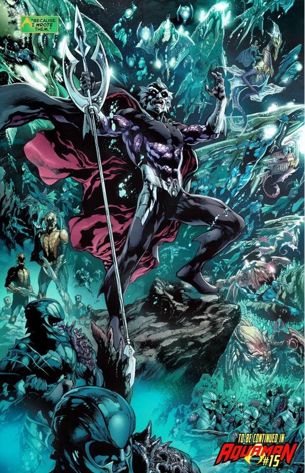 aquaman creates the atlantean war plans