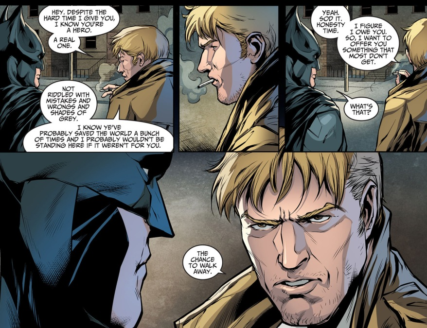 batman and constantine bonds