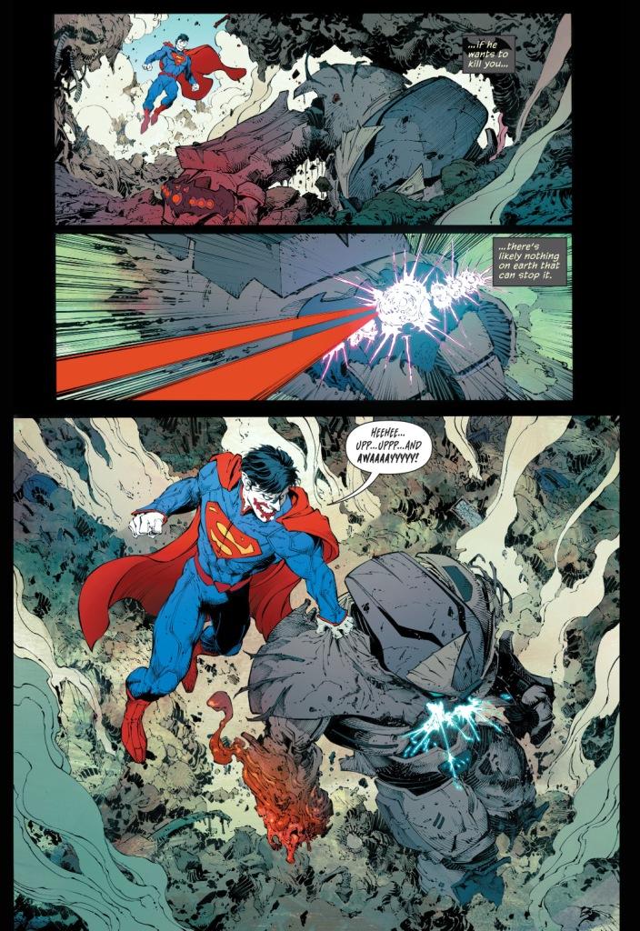 Batman's Justice Buster Suit VS Superman
